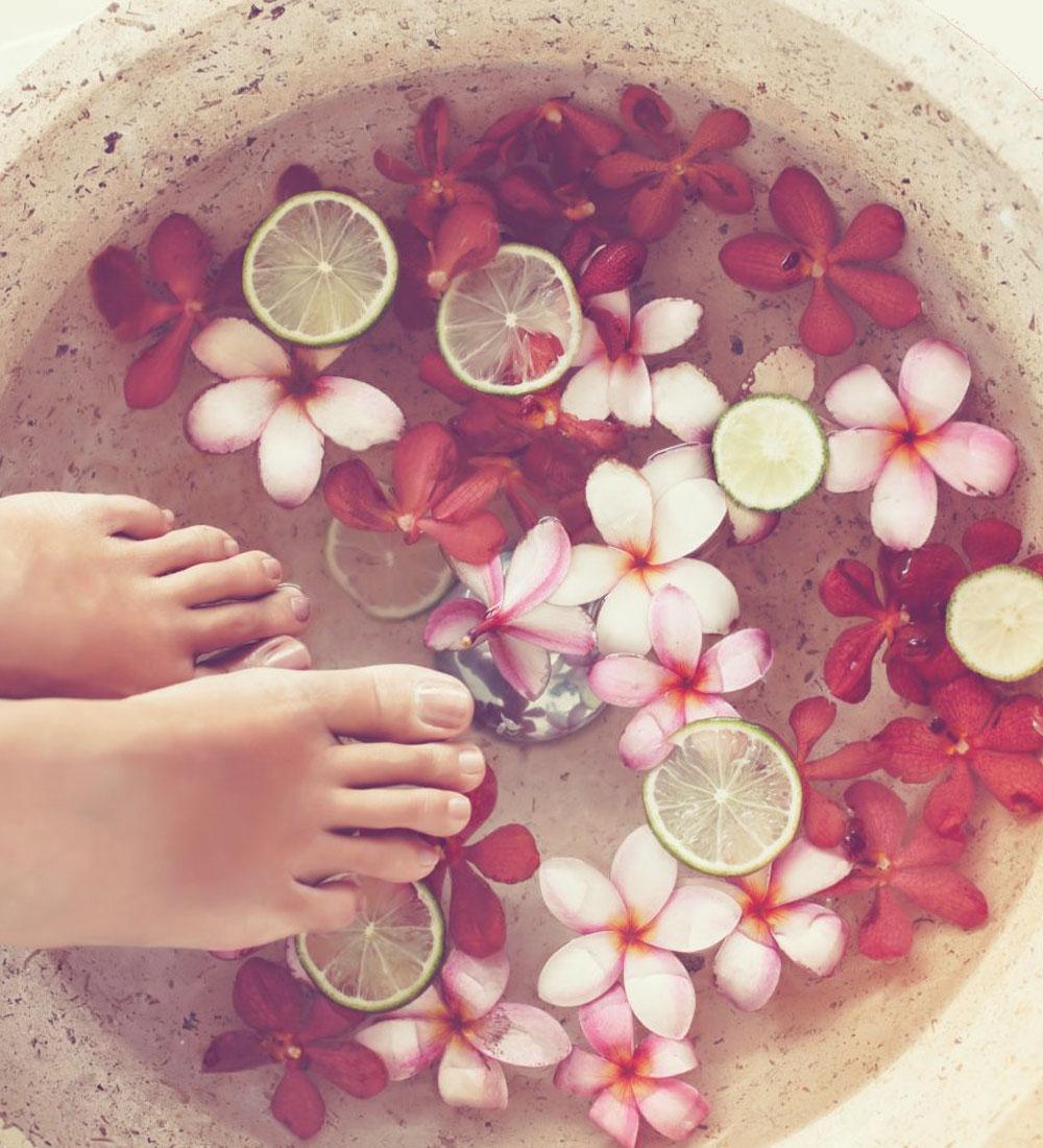 Hand and Foot Reflexology Massage